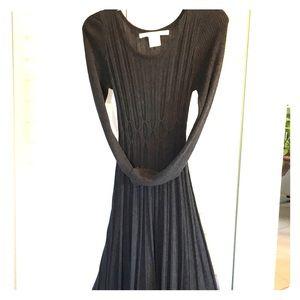 Dress dark gray